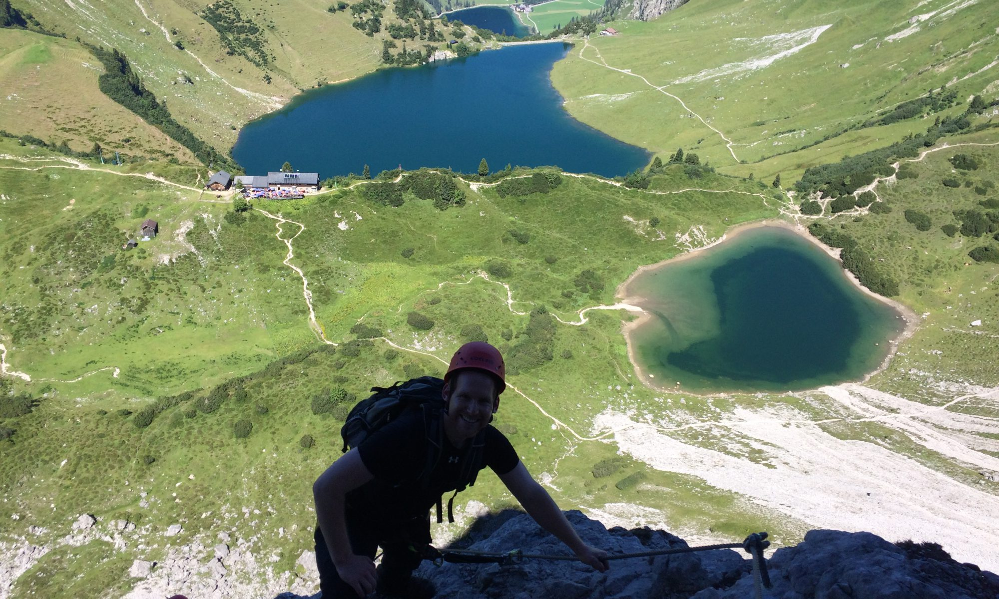 Klettersteig Lachenspitze : Klettersteige u2013 tannheim guides